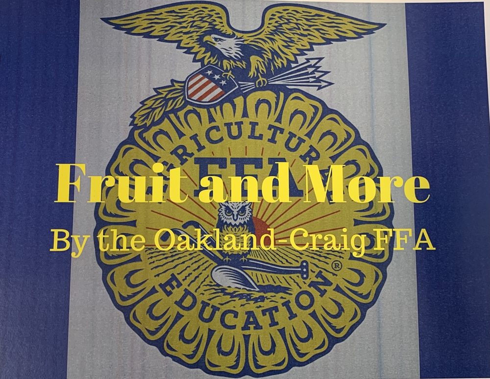 OC FFA Fruit Sales!