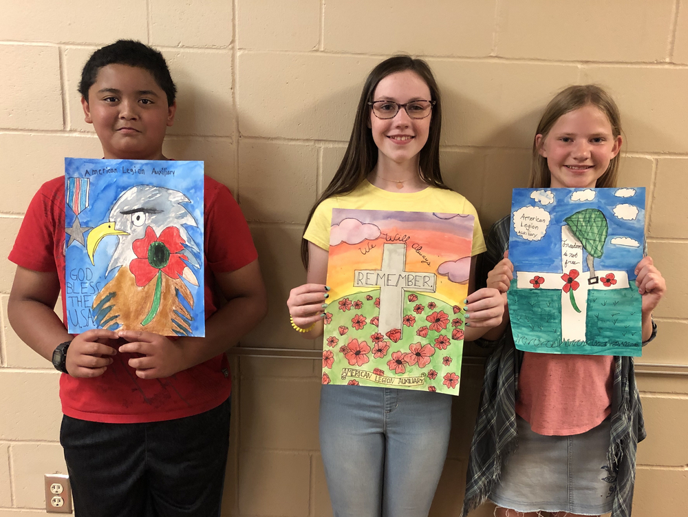 OC Students Participate in Poppy Poster Contest