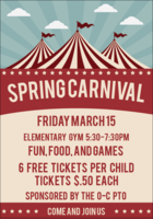 Cancelled Due to Flooding:  Spring Carnival March 15th