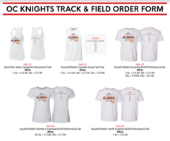 State Track Shirts orders are available!!!!