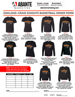 Basketball Shirt orders