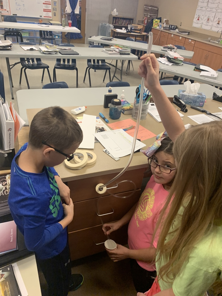 Mr. Meyer's fourth grade science class has been learning about energy transfer through building their own roller coasters.