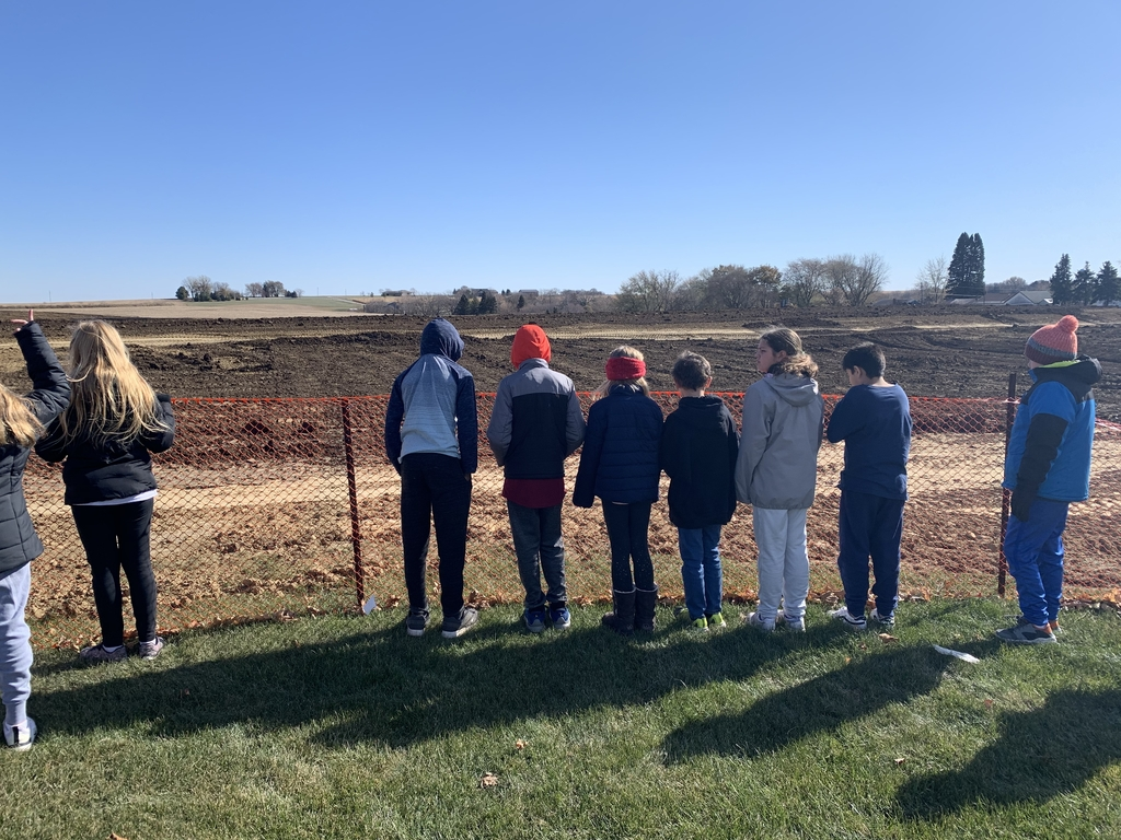 Mr. Myers fiftMr. Meyer's fifth grade class is learning how the geosphere is connected to the biosphere with the topsoil.