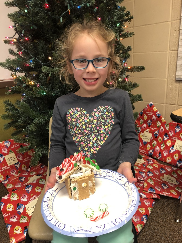 Kindergarten Gingerbread Houses