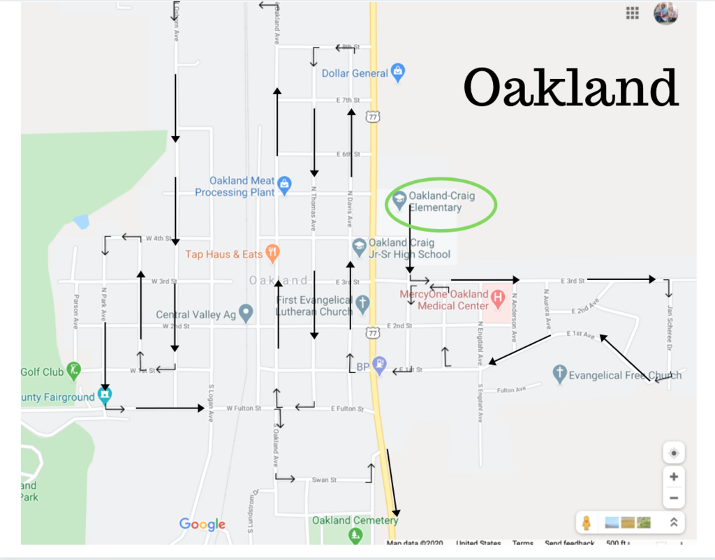 Oakland Route